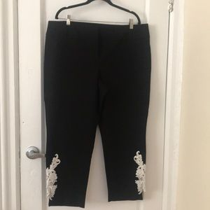 Alfani dressy black 18W pants, new no tags